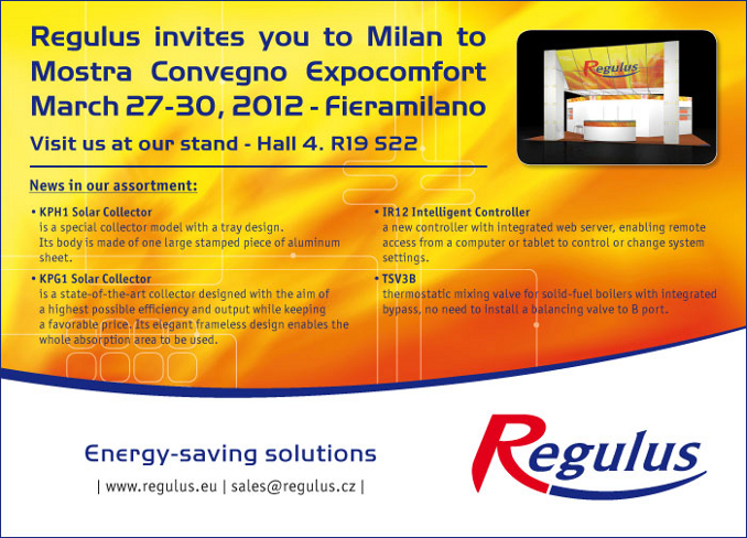 Milano 2012 invitation
