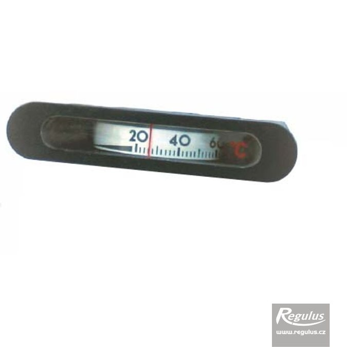 Photo: 0-120°C Thermometer, 1m capillary, 14.5x64.5 mm, black