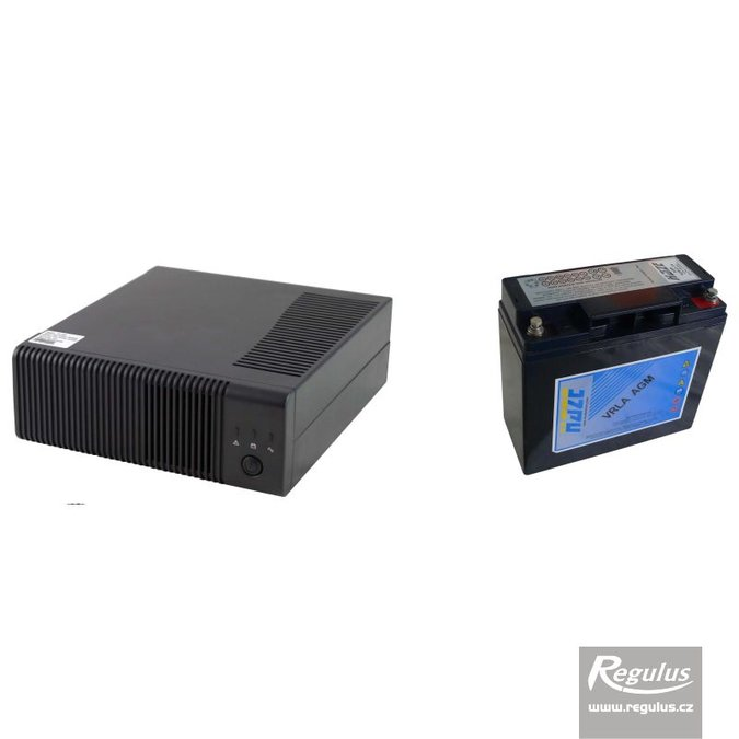 Photo: PG 500 Backup Power Supply - 18 Ah