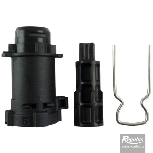 Photo: Adapter for LK525 valve, for actuator max. temp. increase to 110°C