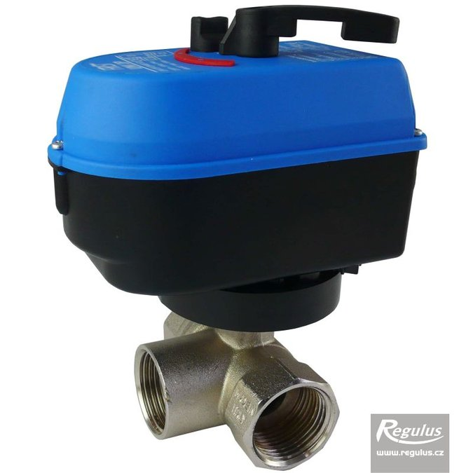 Photo: VZK-S 325-230-2P Three-way Ball Valve