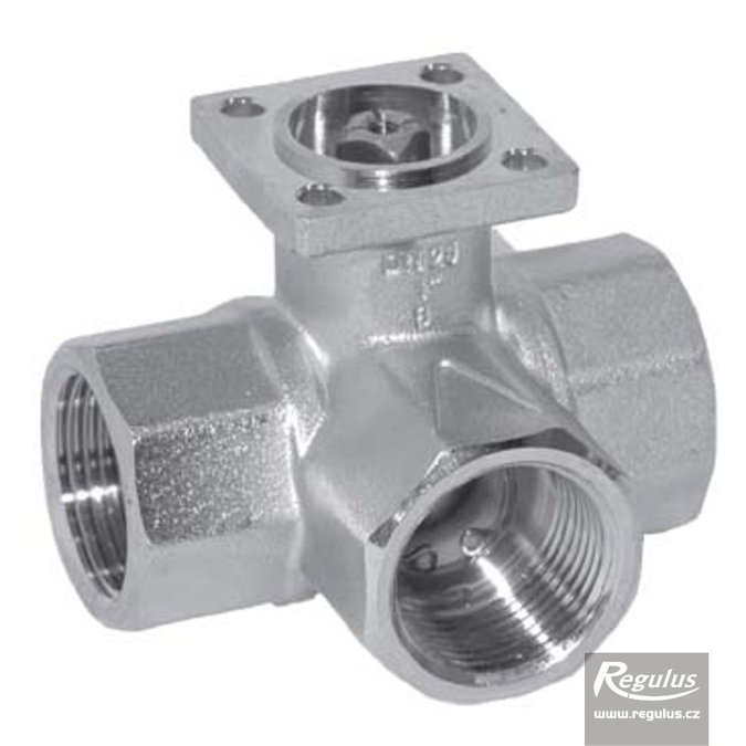 "Photo: R315BL G 1/2"" F Three-Way Ball Valve"