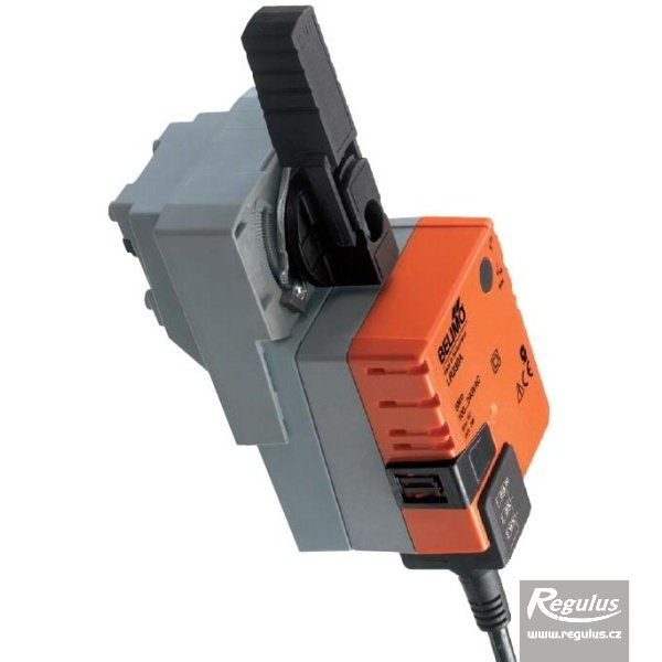Photo: 230VAC actuator for 3-way valves, 5 Nm