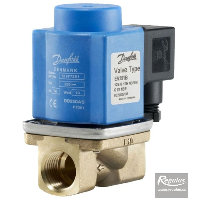 Photo: EV251B 12B Two-way Solenoid Valve