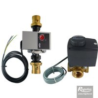 "Picture: 3-way Mixing Valve, 1"",  with actuator and pump"