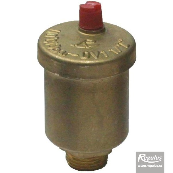 "Photo: OV1 – 1/2"" air vent valve complete with check valve - top mount"