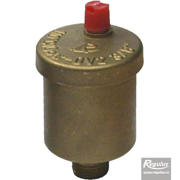 "Photo: OV2 – 3/8"" air vent valve complete with check valve - top mount"