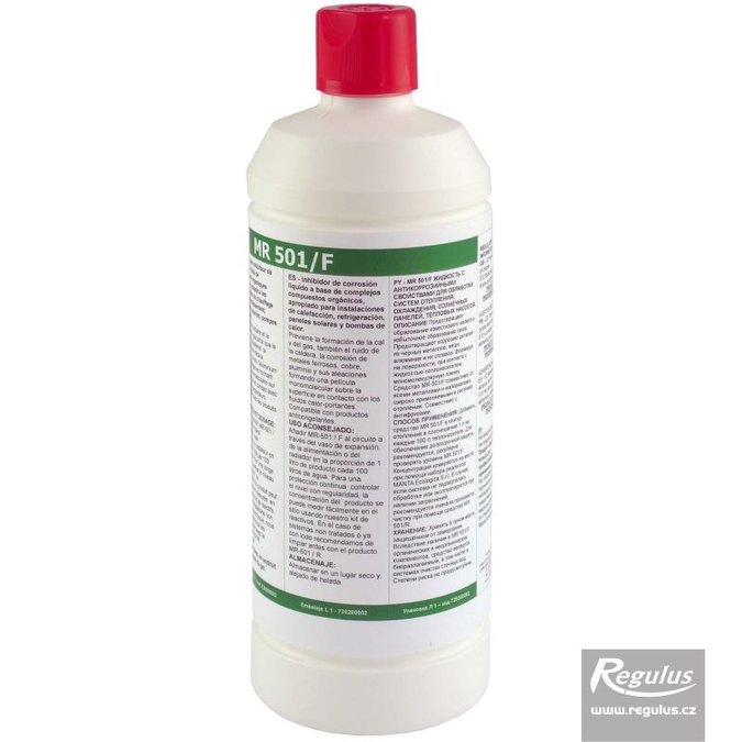 Photo: MR 501/F Protective fluid for heating systems