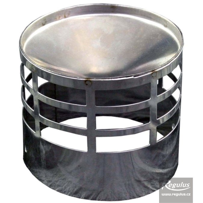 Photo: 80 mm Flue Terminal Grill, flue only, stainless steel