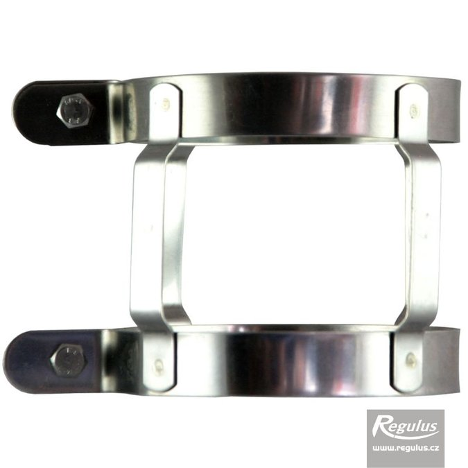 Photo: 80 mm Locking Band, stainless steel, for chimney
