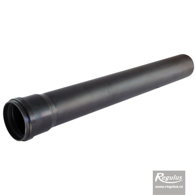 Photo: 60 mm Extension - l = 0.5 m, UV resistant PP, black
