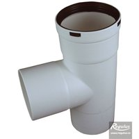 Picture: 80 mm Chimney T-piece, M-M-F