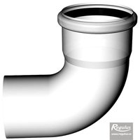 Picture: 80 mm 90° Elbow, PPH-A