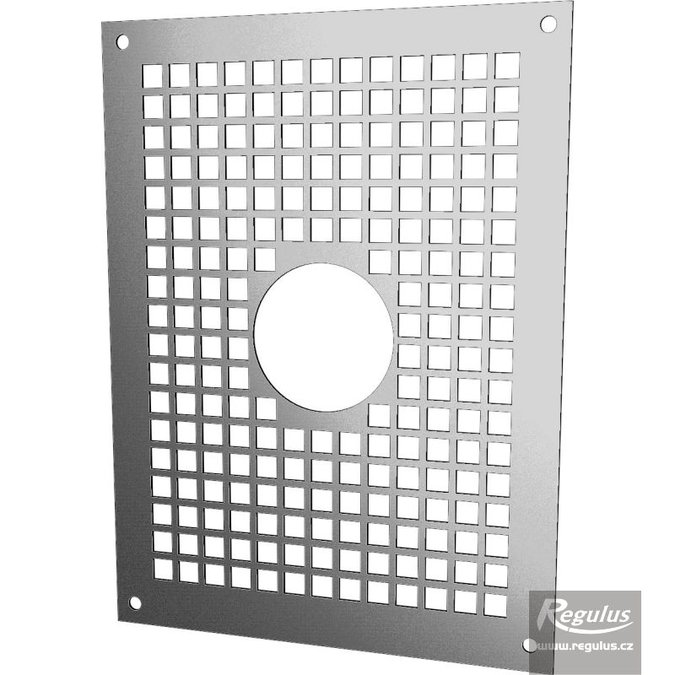 Photo: Grille with 80 mm opening, for PPH-A