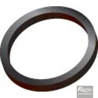 Picture: 80 mm Gasket, black, for PPH-A only