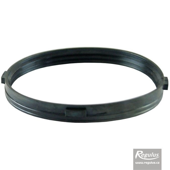Photo: 100 mm Gasket, 3 lips, with teeth, for PP