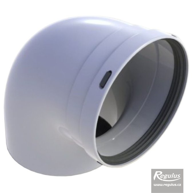 Photo: 125 mm 90° Elbow, PP