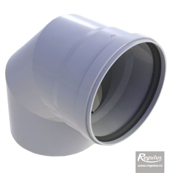 Photo: 160 mm 90° Elbow, PP
