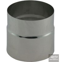 Picture: 125 mm Double Socket Adapter, Inox