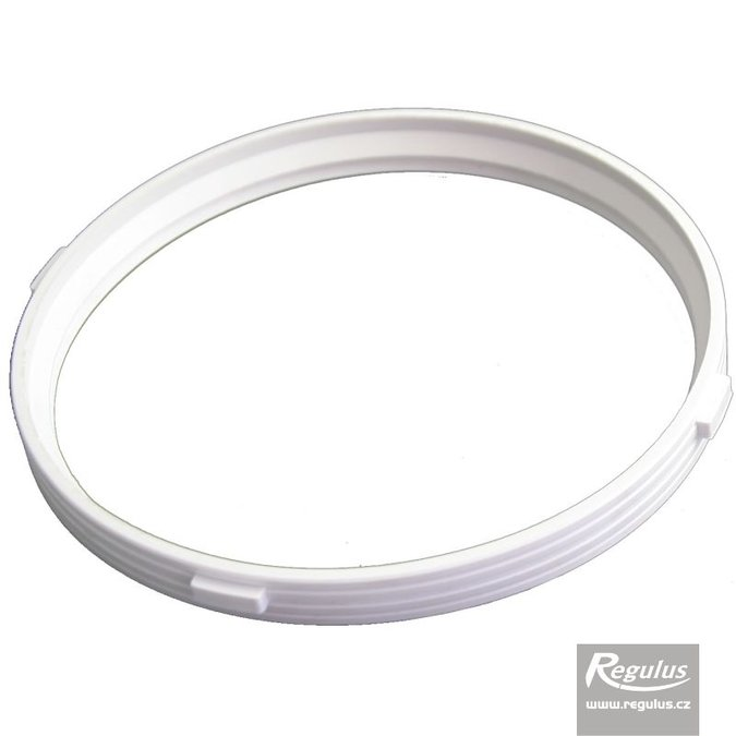 Photo: 125 mm Gasket, 2 lips, white, with theeth, air only!