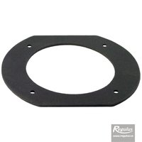 Picture: 100 mm Gasket, flat, for plastic flange