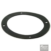 Picture: 100 mm Gasket, flat, for flange, self-adhesive