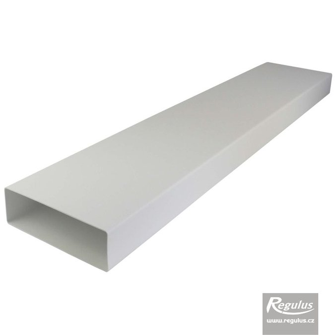 Photo: Rectangular plastic duct