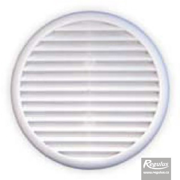 Photo: Round plastic grille, insect net, 80-125mm