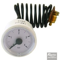 Picture: Pressure Gauge, 4 bar, 1m capillary, d=42mm, no second pointer