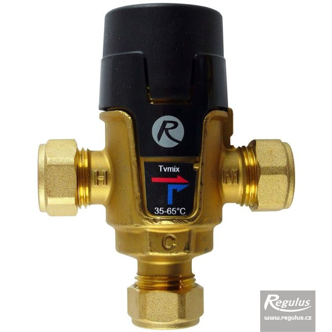 Photo: TVmix Anti-Scald Valve, Cu 15