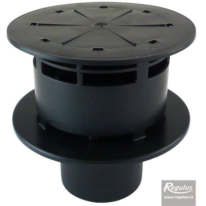 Photo: 80 mm Flue Terminal Grill, flue only, PP, condens. boilers