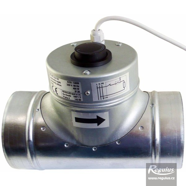 Photo: Electric Air Duct Heater, 150/600