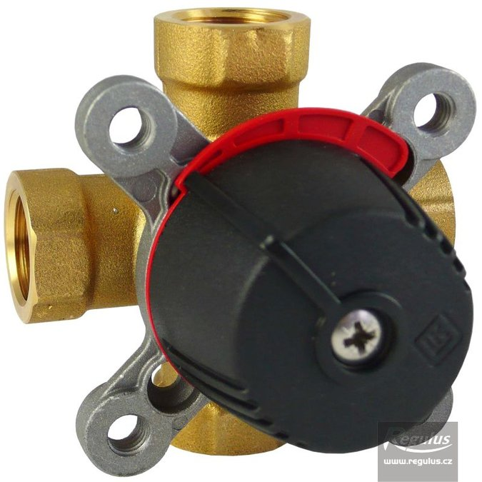 "Photo: LK841 Four-way Mixing Valve, 1/2"" F, Kvs 2.5"