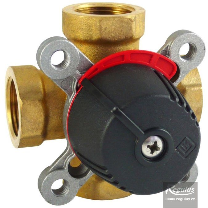 "Photo: LK841 Four-way Mixing Valve, 3/4"" F, Kvs 4.0"