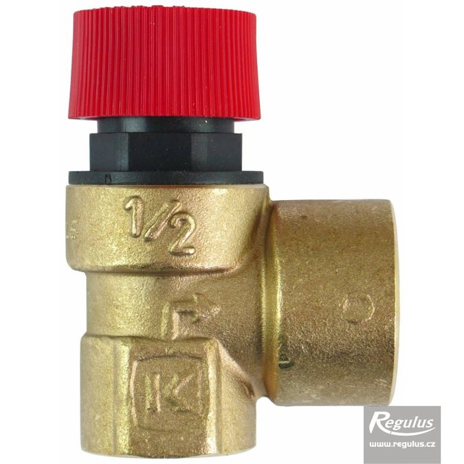 "Photo: Safety Valve, G 1/2"" F x 3/4"" F"