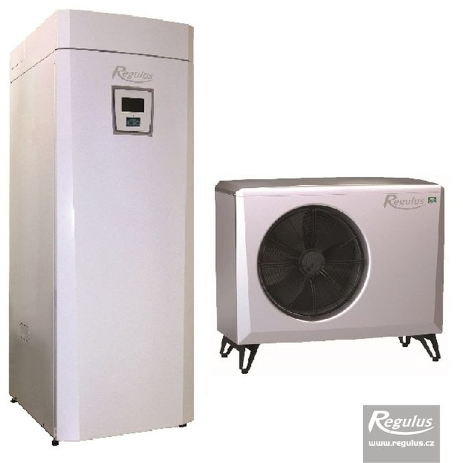 Photo: EcoAir 406 Heat Pump with EcoZenith Thermal Store