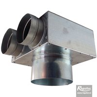 Picture: Air Distribution Box, angled, 2x75/125