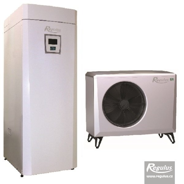 Photo: EcoAir 408 Heat Pump with EcoZenith Thermal Store