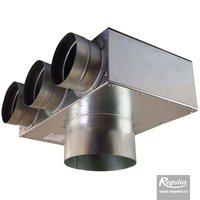 Picture: Air Distribution Box, angled, 3x75/125