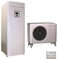 Picture: EcoAir 410 Heat Pump with EcoZenith Thermal Store