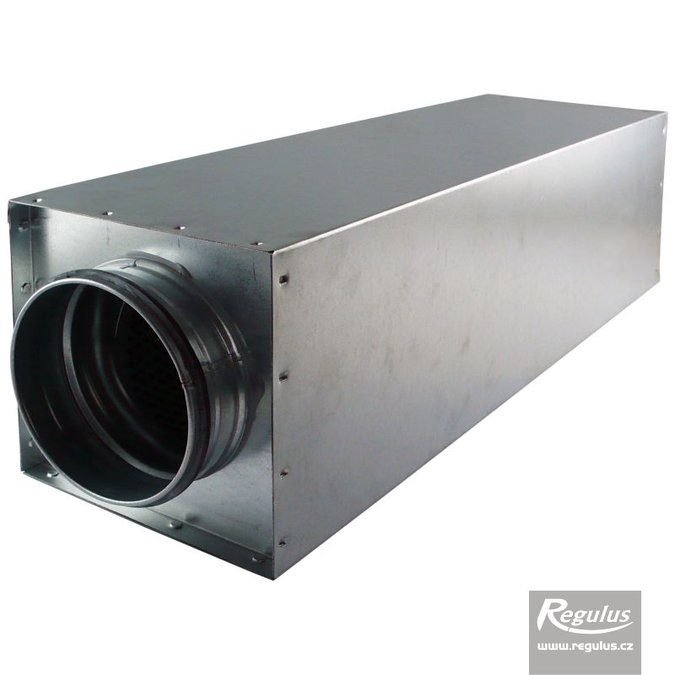 Photo: Duct Muffler for diam. 125 air ducts