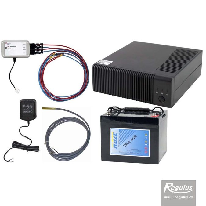 Photo: Backup Power Supply for EcoAir Heat Pumps