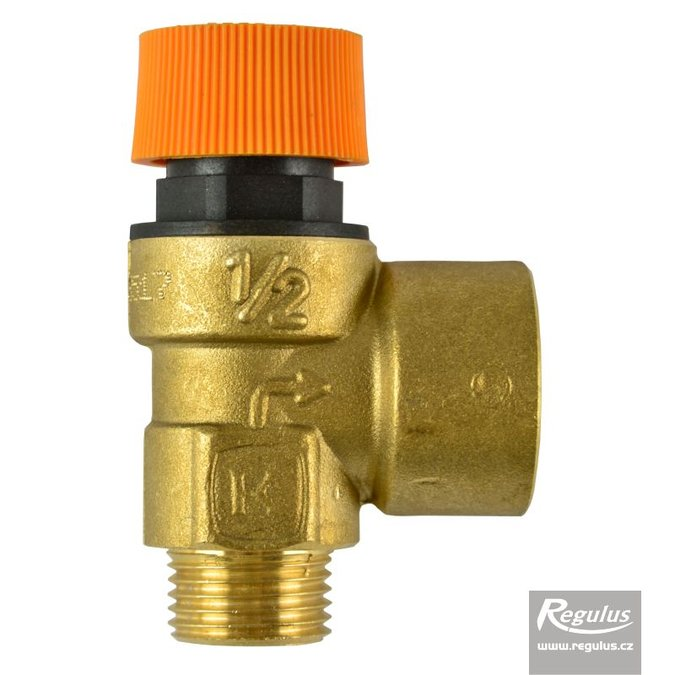 Photo: Safety valve, 6 bar M/F SOL