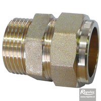 "Picture: Coupler Cu28-G 1"" M, straight"