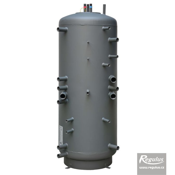 Photo: DUO 390/130 K PR Thermal Store with Immersed DHW Tank