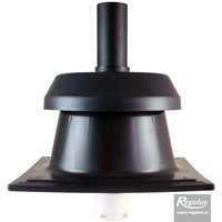 Picture: REGOFLEX 60 Chimney Cowl w. chimney plate