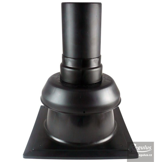 Photo: REGOFLEX 125 Chimney Cowl w. chimney plate