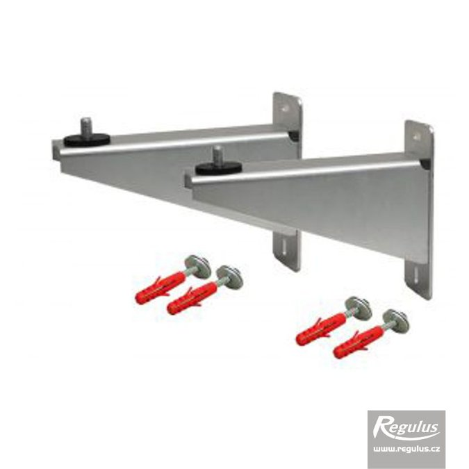 "Photo: Wall support for 5/4"" manifold/collector"