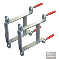 Picture: Wall support for HVDT pressure balancers