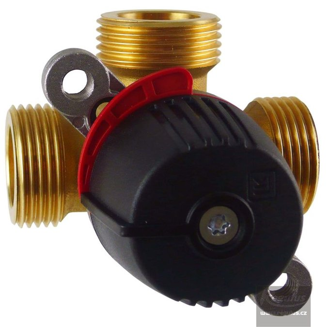 "Photo: LK 840 2.0 3-way mixing valve, 1"" M, Kvs 4.0"